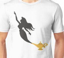 Mermaid - Genie Lamp Unisex T-Shirt