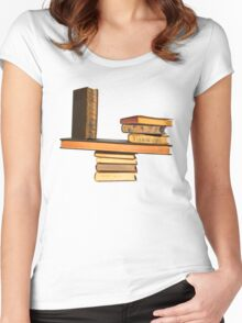 Balancing the Books Women's Fitted Scoop T-Shirt