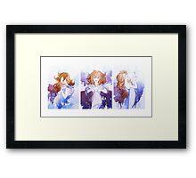 Faith, Hope, and Love Trio Framed Print