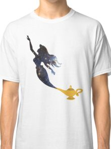 Mermaid - Genie Lamp - Galaxy Classic T-Shirt