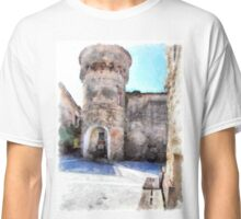 Vatolla: tower with fountain Classic T-Shirt