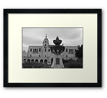 In the Front Framed Print