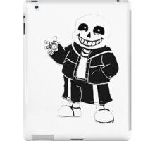 Undertale Sans character iPad Case/Skin