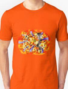 Deselia V3 - abstract digital artwork T-Shirt