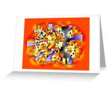Deselia V3 - abstract digital artwork Greeting Card