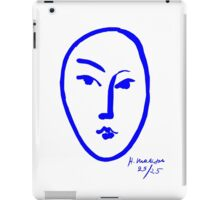 Face by Matisse iPad Case/Skin