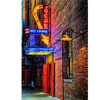 Fort Worth Impressions Scat Lounge Photographic Print