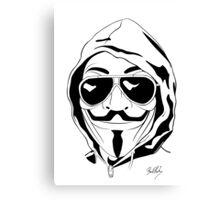 Vendetta Shades Logo Canvas Print
