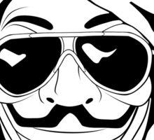 Vendetta Shades Logo Sticker
