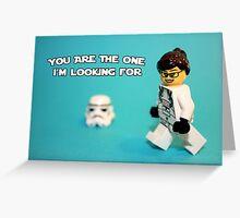 Lady Stormtrooper Valentine Greeting Card