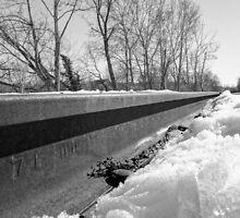 Winter Train Tracks by CSSphotos