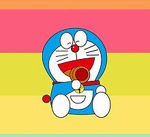 Rainbow Doraemon by killmetty