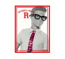 KEN DOLL WENT TO RYDELL HIGH (GREASE) Art Print
