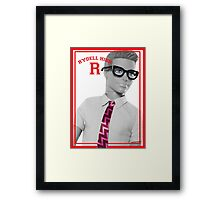 KEN DOLL WENT TO RYDELL HIGH (GREASE) Framed Print