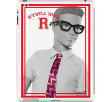 KEN DOLL WENT TO RYDELL HIGH (GREASE) iPad Case/Skin