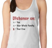 Dishonor On Your Cow Women's Tank Top