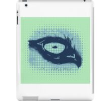 Mc wolfie stippled  iPad Case/Skin