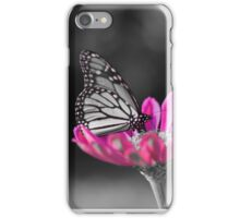 colorized butterfly  iPhone Case/Skin