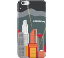Los Angeles - Skyline Illustration by Loose Petals iPhone Case/Skin