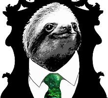 Sloth Like a Boss - Mr. Sloth by robotface