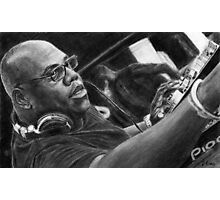 Carl Cox Pencil Drawing Photographic Print