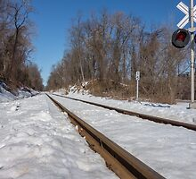 HDR Train Tracks by CSSphotos