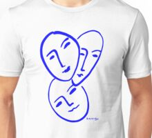 Three Masks by Matisse Unisex T-Shirt