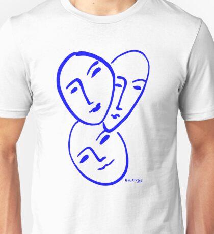 Three Masks by Matisse Unisex T-Shirt