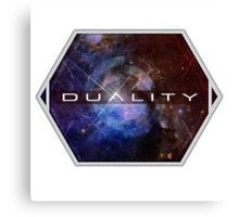 Duality 'Window to the Universe' Shirt Canvas Print