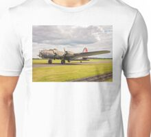 "Boeing B-17G Fortress II F-AZDX ""Pink Lady/Mother and Country"" Unisex T-Shirt"