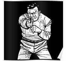 punk shooting range target Poster
