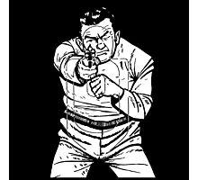 punk shooting range target Photographic Print