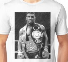Mike Tyson Pencil Drawing Unisex T-Shirt
