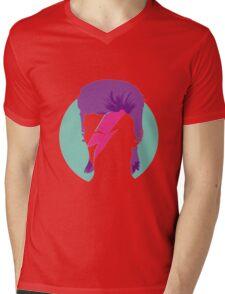 David Bowie Mens V-Neck T-Shirt