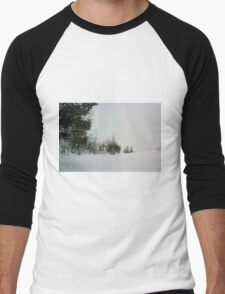 Winter Silence Men's Baseball ¾ T-Shirt