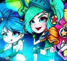 Arcade girls Sticker