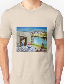 Paesaggio siciliano Unisex T-Shirt