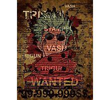 Trigun Vash the stampede Photographic Print