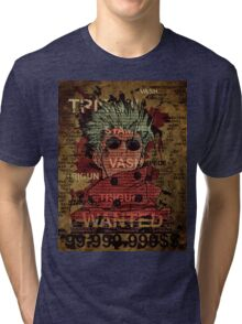 Trigun Vash the stampede Tri-blend T-Shirt
