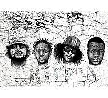 Black Hippy Photographic Print
