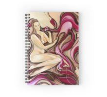 Frangipani Darling Heart Spiral Notebook