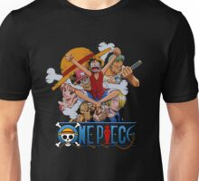 Luffi and Friends - One Piece Unisex T-Shirt