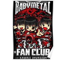 BabyMetal Fan Club (Chibi) Poster