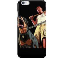 GTA - GTA 5 - Franklin and Chop iPhone Case/Skin