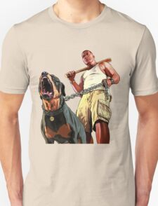 GTA - GTA 5 - Franklin and Chop T-Shirt