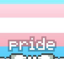 Trans Pride Stamp Sticker