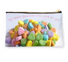 My Hearts Spill Over with LOVE for You! Card Studio Pouch