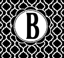 B Bootle by MonogramMonkey