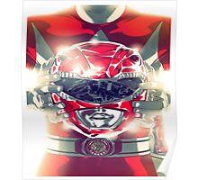 red ranger Poster
