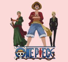 Luffi Zoro Sanji - One Piece One Piece - Short Sleeve